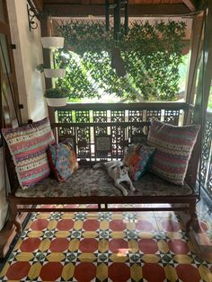 A Magnificient Heritage Home in the Heart Of Mumbai ~ The Keybunch Decor Blog New Palace, Tile Saw, Beautiful Villas, Spanish Colonial, In The Heart, Decorating Blogs, Room Themes, Mosaic Tiles, Old World