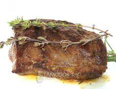 Фото стейка из говядины с розмарином и тимьяном
