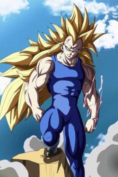 DBZ Making Vegeta super Saiyan 3 - Visit now for 3D Dragon Ball Z shirts now on sale!