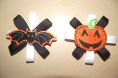 Halloween clips~ $2 each!     I can  ship and accept EMT! :)     #Littletreasures