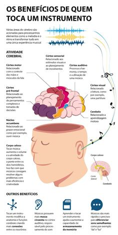 # Benefits of - Partituras - Carreira Violin Lessons, Music Lessons, All About Music, My Music, Music Chords, Study Organization, Brain Gym, Piano Sheet Music, Music Theory