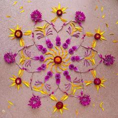 Flower-Mandala @ Danmala: Mandala-art