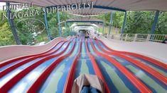 Duinrell 2019 Niagara Superroetsj 360° VR POV Onride