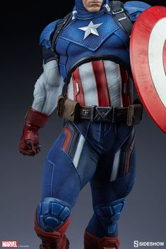 ArtStation - Captain America Scale for Sideshow Collecitbles, Daniel Bel Captain America Pictures, Marvel Captain America, Game Character Design, Comic Character, Big Iguana, First Superhero, Marvel Statues, Pop Heroes, Sideshow Collectibles