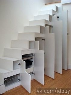Save space: stairs