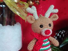 Stuffed Animals, Crochet Hats, Christmas Ornaments, Etsy, Trending Outfits, Holiday Decor, Unique Jewelry, Handmade Gifts, Vintage