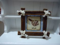 miniature home decor sign by MINISSU on Etsy, $3.99