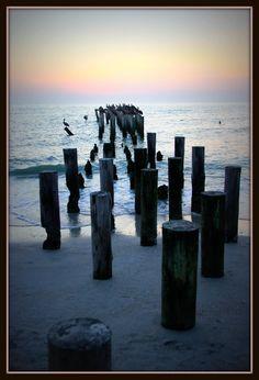 The wonderful Old Naples Pier, Florida