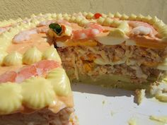 Seafood Recipes, My Recipes, Salad Recipes, Pain Thermomix, Snacking, Crazy Cakes, Food Decoration, Empanadas, Canapes