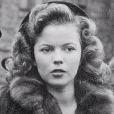 Shirley Temple. As a gorgeous young lady...one of those people who did so much good for others in her life, a true inspiration
