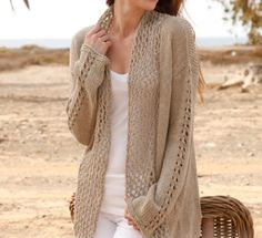Crochet Light Weight Jacket Free Pattern