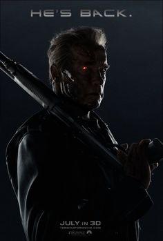 Terminator Genesis Arnold Teaser Poster