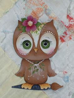 owl by Cyndy McBride, using a Jamie Mills-Price pattern