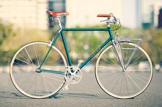 nice porteur handlebars and brooks saddle Level Mamachari