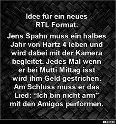 Idee für ein neues RTL Format...