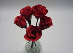 Craft Projects Using Duck Tape or is it Duct Tape - DIY Crafty Projects Duct Tape Projects, Duck Tape Crafts, Craft Projects, Craft Ideas, Simple Projects, Diy Ideas, Duct Tape Rose, Duct Tape Flowers, Handmade Flowers