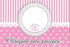 Tag de Agradecimento Chá de Casa Nova para Impressão