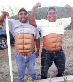 You totally make fun of people who have six packs. | 18 Secrets Men With Big Bellies Won't Tell You