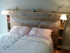 Deco recup on diy bedroom decor, headboards for beds и barn How To Make Headboard, How To Make Bed, Mexican Bedroom, King Headboard, Guest Bed, Headboards For Beds, Diy Bedroom Decor, Home Decor, Furniture