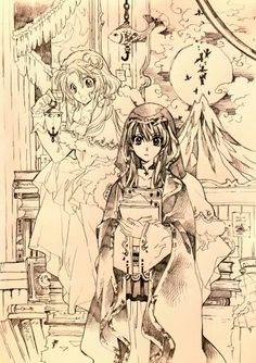 Sketch made by Arina Tanemura