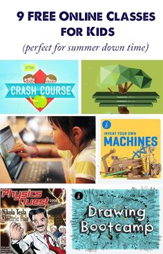 Online Summer Classes for Kids that are Perfect for Down Time - Modern Parents Messy Kids Quiet Time Activities, Creative Activities For Kids, Indoor Activities For Kids, Summer Activities, Family Activities, Summer Classes For Kids, Kids Class, Summer Kids, Educational Websites