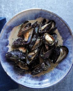 Coconut-Curry Mussels - these were easy and delicious.