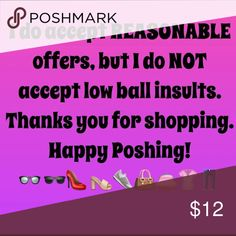 Please! I will ignore lowball offers Dresses