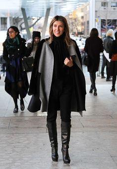 Nina Garcia at Lincoln Center