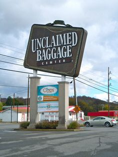 Unclaimed Baggage Center | Atlas Obscura