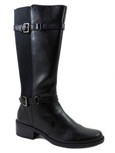 Anne Klein Women's Lissa Fashion - Knee-High Black Boots Size 11 M #AnneKlein #FashionKneeHigh