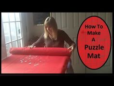 I will show you how I made my puzzle mat. I love to do puzzles but sometimes they can take up so much room. My puzzle mat will allow me to move my puzzle whe. Puzzle Mat, Day Book, Diy Projects To Try, Jigsaw Puzzles, Have Fun, Encouragement, Silver Anniversary, Diy Crafts, Entertaining