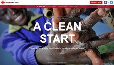 A clean start, British Red Cross