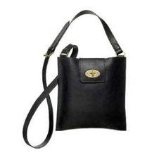 Mulberry Cross Body Bag Envelop Black Bag #Handbags