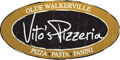 Vito's Pizzeria                                         Great Wood Oven Pizza!