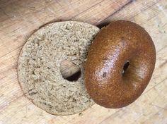 Pumpernickel bagels! #homemadebread #bread #homemade #foodporn #recipes #desserts #chocolatebread #breakfast #Nestle