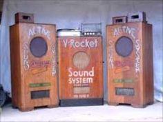 V-Rocket big ass Sound System Dub Music, Reggae Music, Champion System, Love Graffiti, Big Speakers, Female Poets, Dancehall Reggae, Music Images, Retro Futuristic