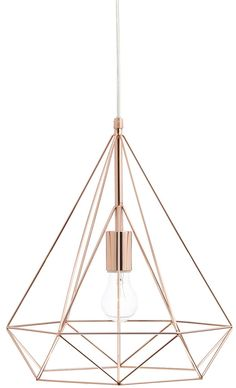 Modern industrial caged metal ceiling pendant light shade vintage dar sword contemporary wire prism 1 light pendant copper keyboard keysfo Image collections