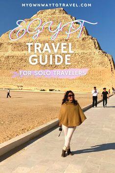 Solo Travel Tips, Ways To Travel, Egypt Travel, Africa Travel, Africa Destinations, Travel Destinations, Tips For Traveling Alone, Visit Egypt, Travel Alone