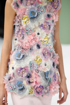 Ideas Fashion Design Inspiration Haute Couture Chanel 2015 For 2019 Chanel Couture, Couture Fashion, Runway Fashion, Paris Fashion, Couture Details, Fashion Details, Look Fashion, Fashion Show, Trendy Fashion