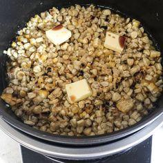 焼きとうもろこしご飯準備できました。 これから炊き込みます。 トウモロコシはホワイトショコラとゴールドラッシュ。 Beans, Vegetables, Food, Essen, Vegetable Recipes, Meals, Yemek, Beans Recipes, Veggies