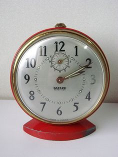 ancien rveil rond bayard a rptition horloge pendule mouvement old clock