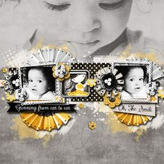 Oscraps :: Scrapbooking Heaven: Shop by Category :: All New :: One Thousand Smiles Kit