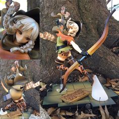 """2,245 Likes, 34 Comments - Riki Lecotey 'riddle' (@ridd1e) on Instagram: """"#toytuesday I been eyeballing this figure of Elf from Dragons Crown for awhile but all the pictures…"""""""