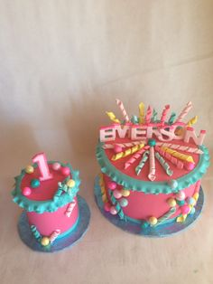 1st Birthday Cake  Smash cake