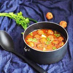 elephant yam fried balls in spicy gravy more yam kofta kofta curry yam ...