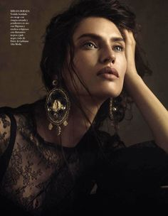 Vogue Spain Editorial October 2012 - Bianca Balti by Giampaolo Sgura
