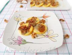 Ricetta Gnocchi di polenta con noci e crema di gorgonzola