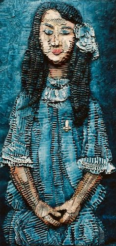 """Alice"" collage 78x39"