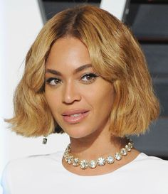 Bey's chin-length chop was fleeting, but will forever be on our list of must-try haircuts.