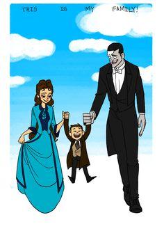 phantxmoftheopera — phanwolf: i love this family~ :D be happy! Hadley Fraser, Opera Ghost, Pixar, Music Of The Night, Love Never Dies, Phantom Of The Opera, Musical Theatre, Good Music, Movies And Tv Shows